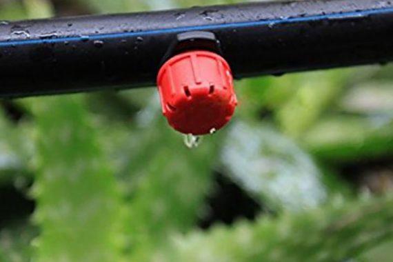 Система-Орошения-сада-Регулируемый-Красный-Капельницы-Можно-Использовать-50-pack